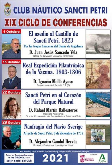 Cartel de conferencias