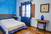 Dormitorio colores azules