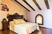 Dormitorio colores cálidos