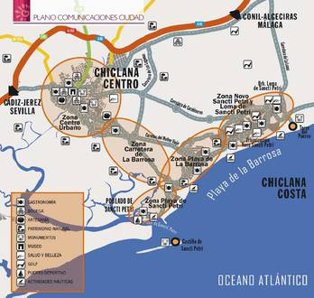 Mapa de zonas