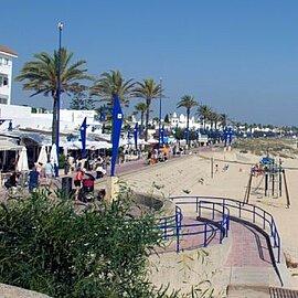 Ruta Playa de la Barrosa