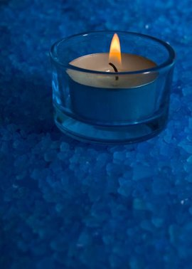 Vela azul